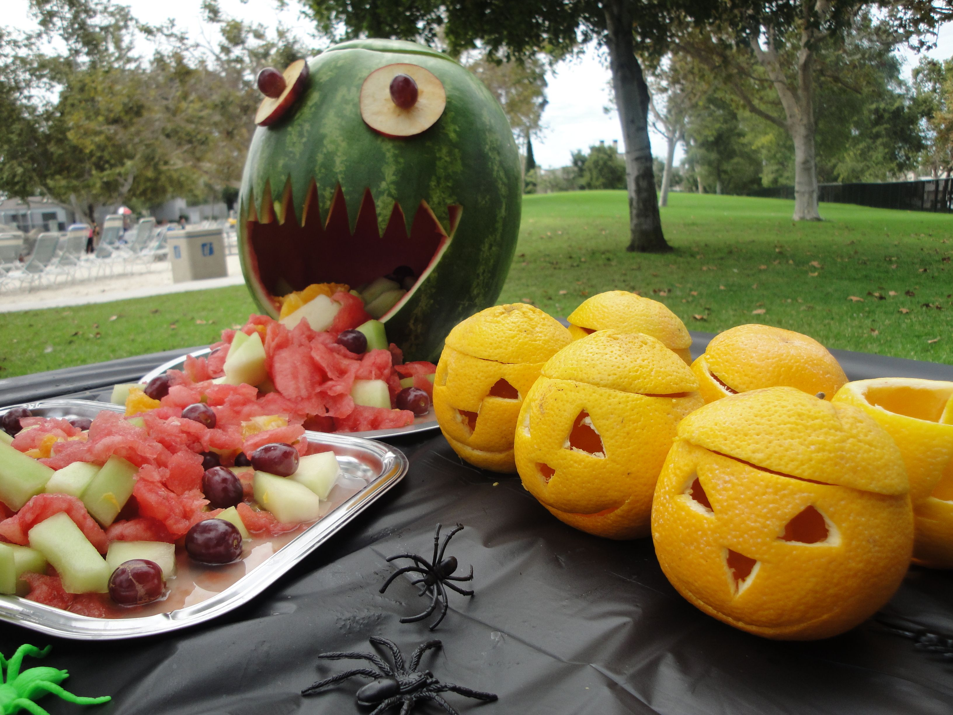 halloween themed birthday party for my daughter u0027s 6th watermelon
