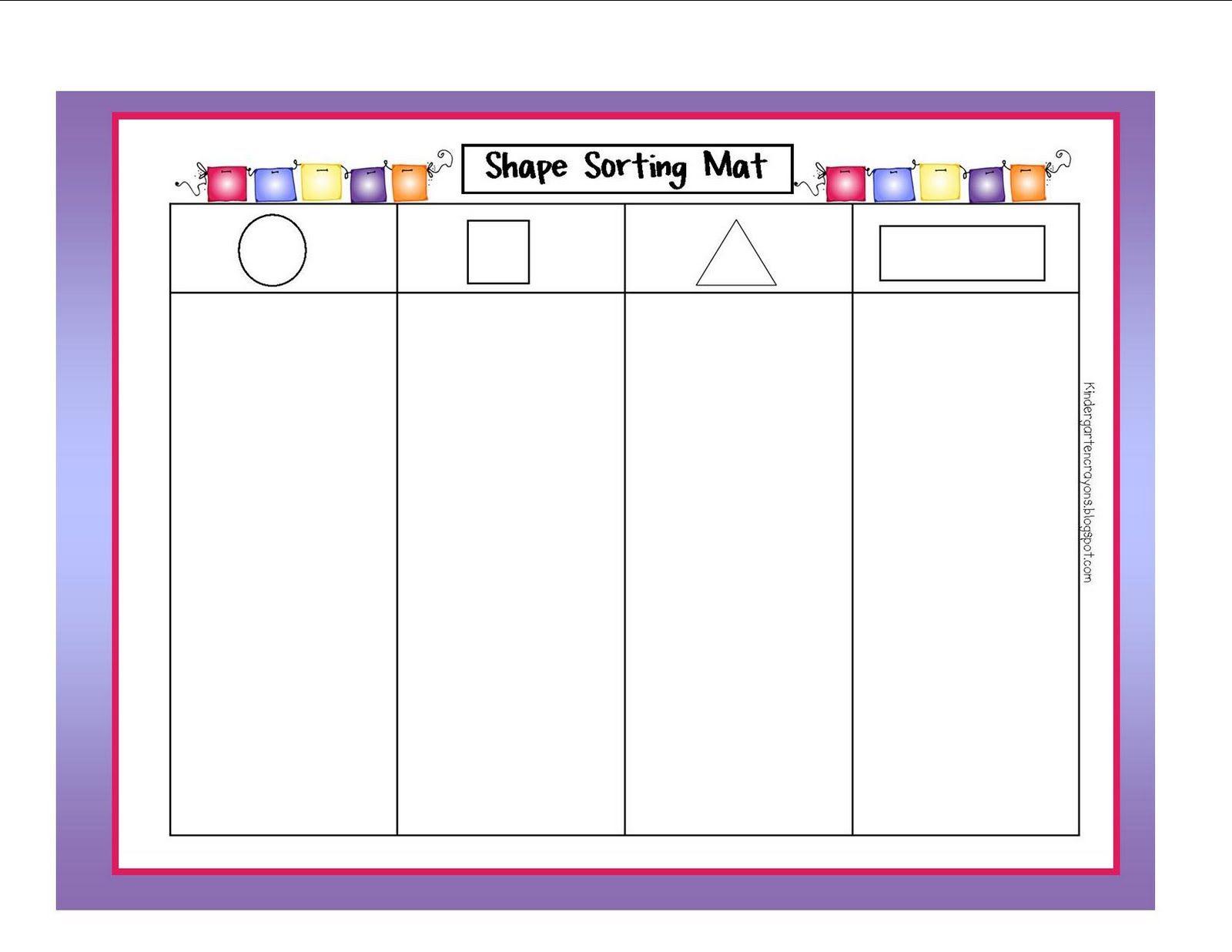shape sorting preschool shapes kindergarten crayons kindergarten math shapes worksheets. Black Bedroom Furniture Sets. Home Design Ideas