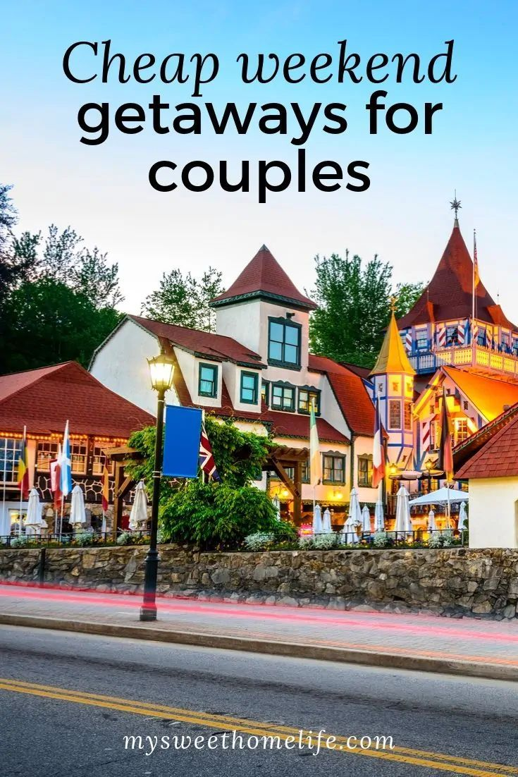 Sometimes you want to take your date night to the next level - and what better way to do so than with a cheap weekend getaway? Check out these awesome weekend getaway ideas that won't break the budget! #weekendgetaway #cheapweekendgetaway