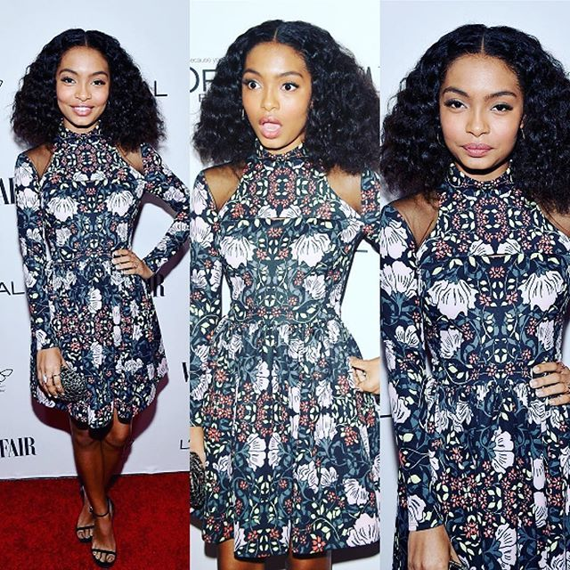 The many faces of one, Yara Shahidi ✨  Thank you @lorealmakeup & @vanityfair…