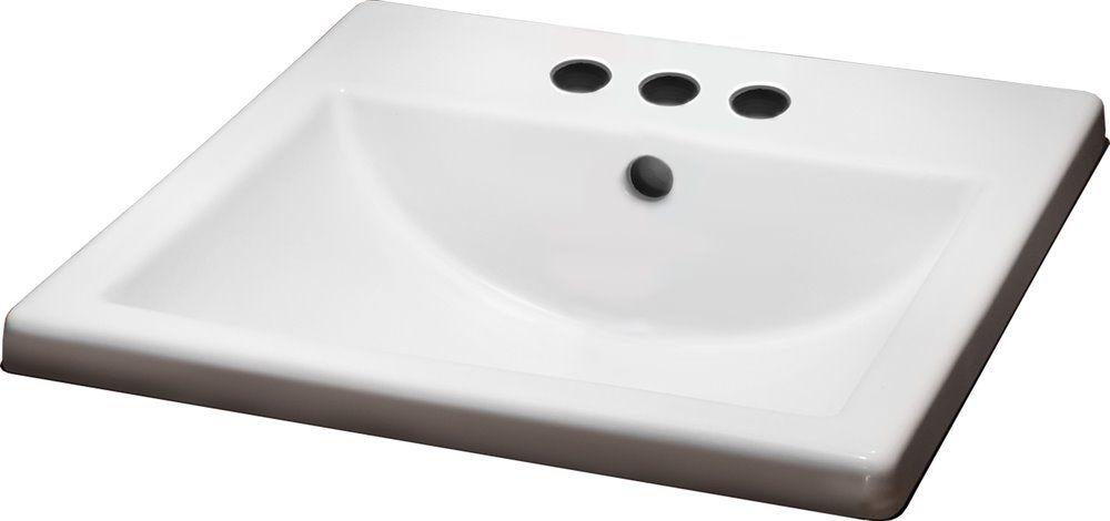American Standard Marquette Drop-in Rectangular Bathroom ...