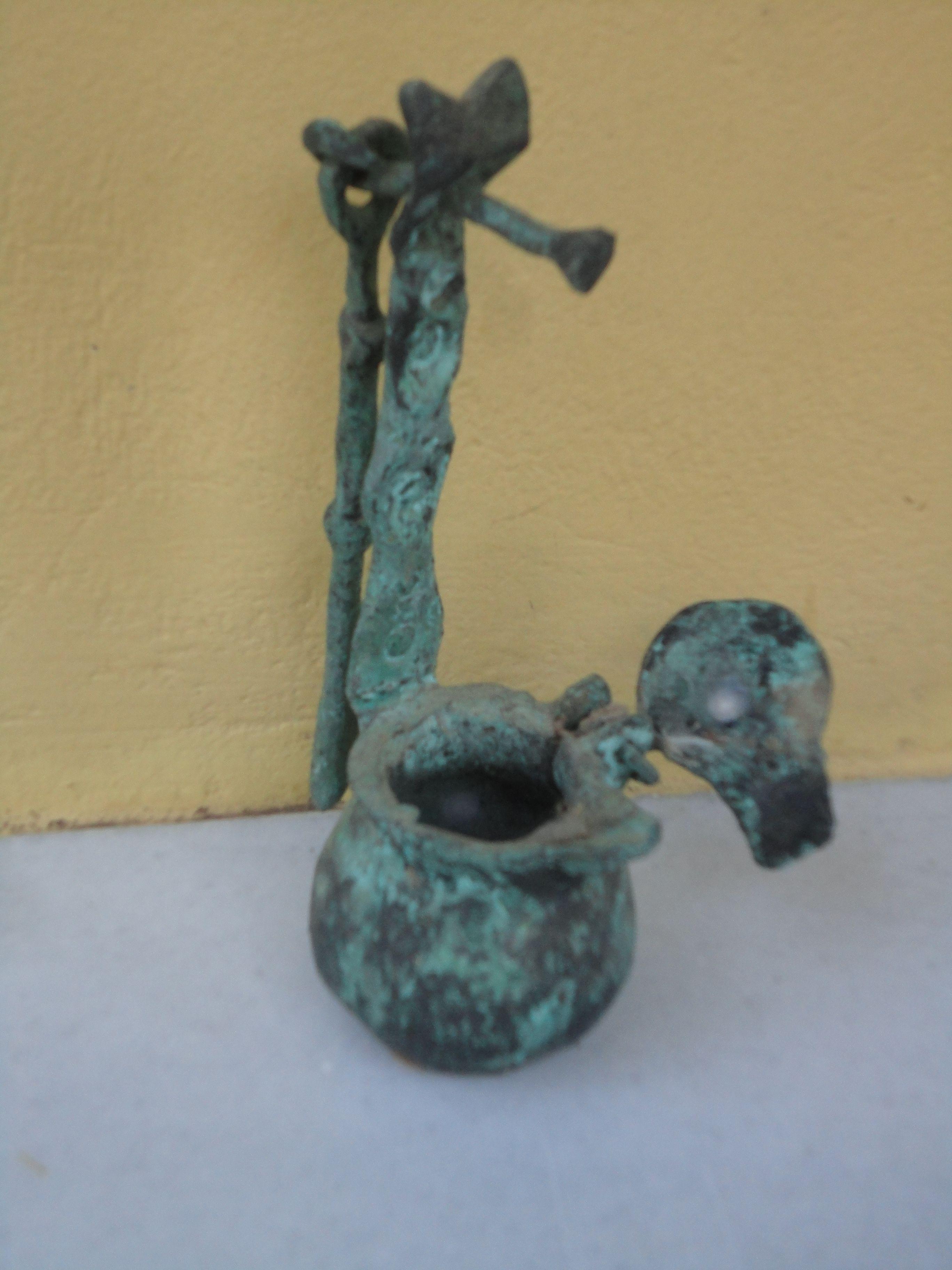 Bronze. Pers. Collection. P-M Zervos