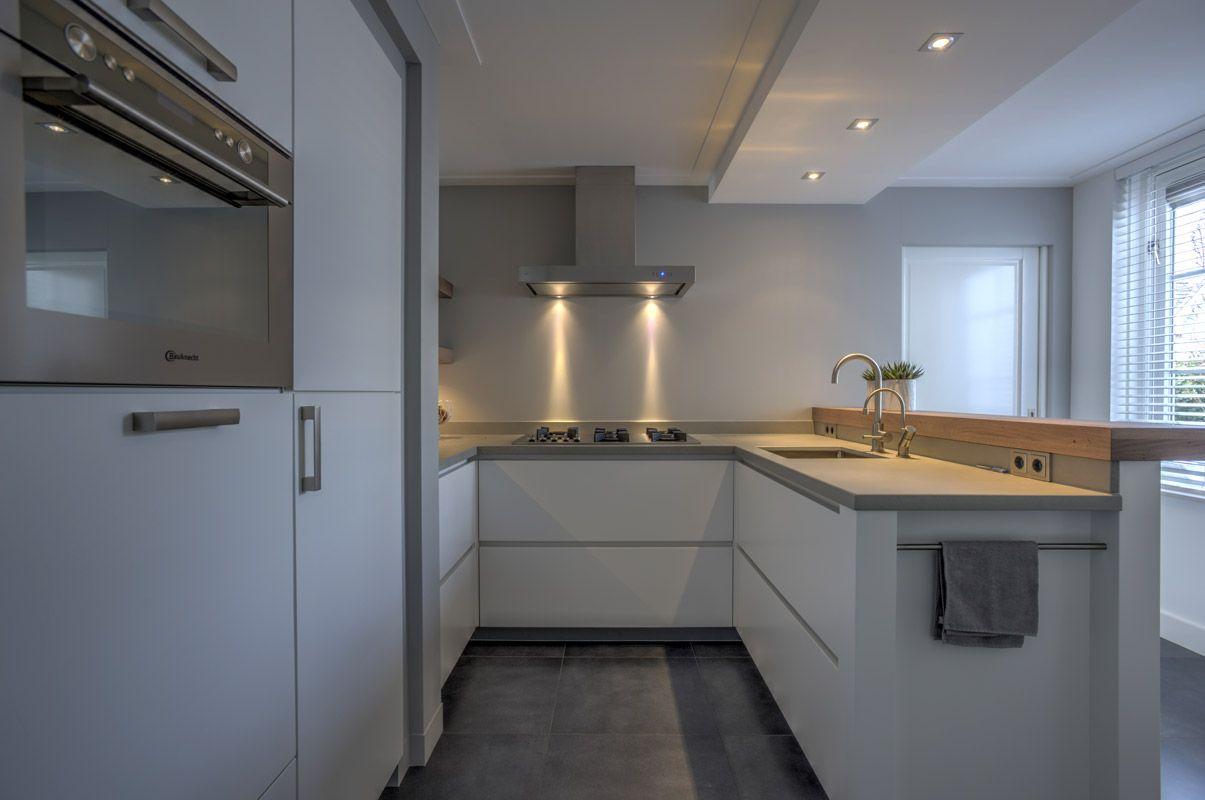 Witte u keuken google zoeken kleur keuken pinterest keuken keuken wit en zoeken - Open keuken ideeen ...
