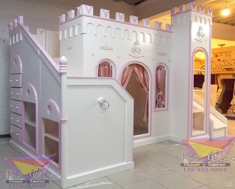 Dormitorios infantiles de estilo por camas y literas - Camas infantiles de princesas ...
