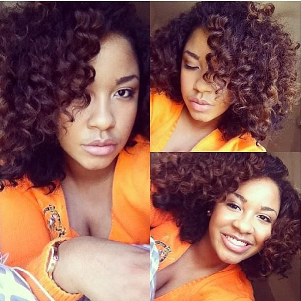 Love her curls! Follow BHI on Facebook & Twitter too!  http://www.facebook.com/blackhairinformation https://twitter.com/#!/BlackHairInfo #curlyhairrocks #naturalhair #curlyhair #blackhair