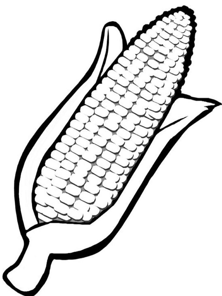 http://colorings.co/corn-coloring-pages/ #Coloring, #Corn, #Pages ...