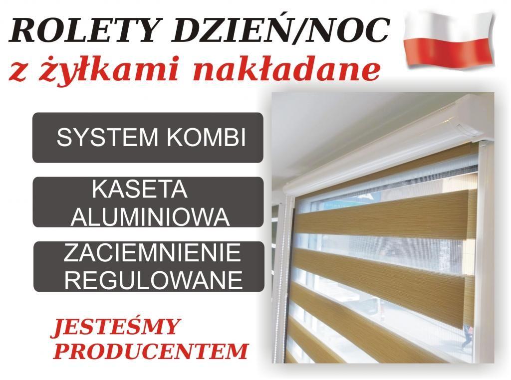 Rolety Dzien Noc W Kasecie Alu Zylki Nakladane G 1 4680676303 Oficjalne Archiwum Allegro Home Decor Decor Bookcase
