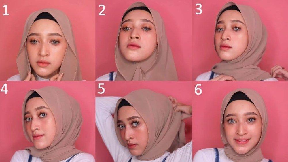 Tutorial Hijab Pashmina Jepit