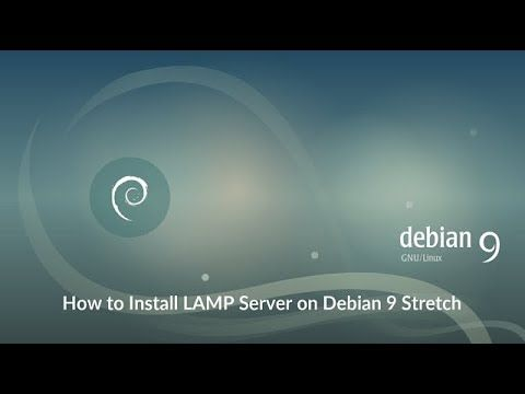 debian 9 install mysql