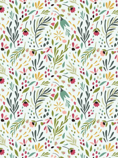 Illustrations — Denise Anne #flowerpatterndesign