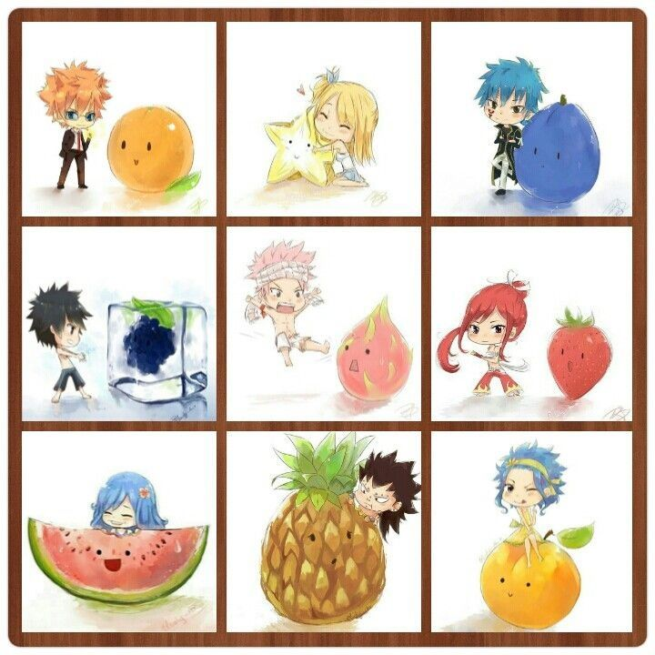 Fairy tail fruits!