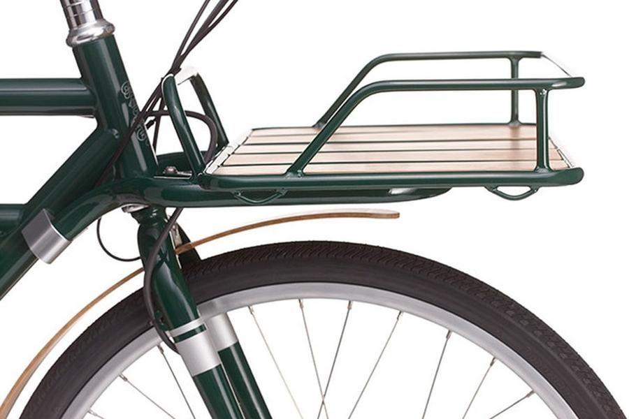 Faraday E Bike Porteur Front Rack Accessory Bicycle Racks Bike Mounted The Electric Spokes Company Bicycle Bike Seat Electric Bike
