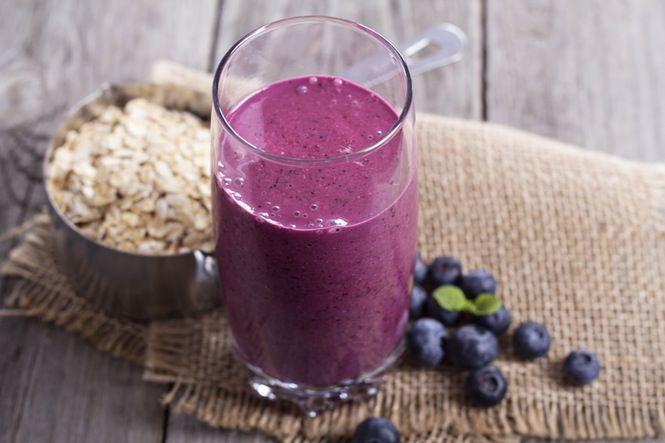 protein smoothie med proteinpulver