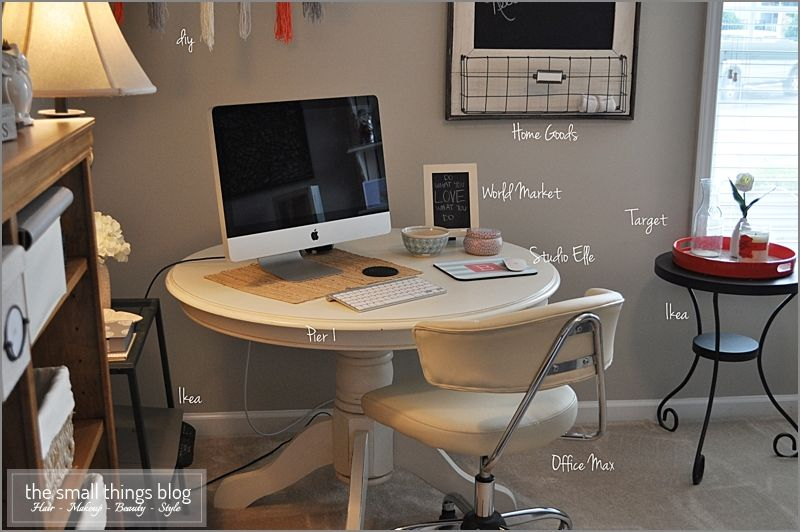 The Office Round Desk Guest Room Office Office Desk