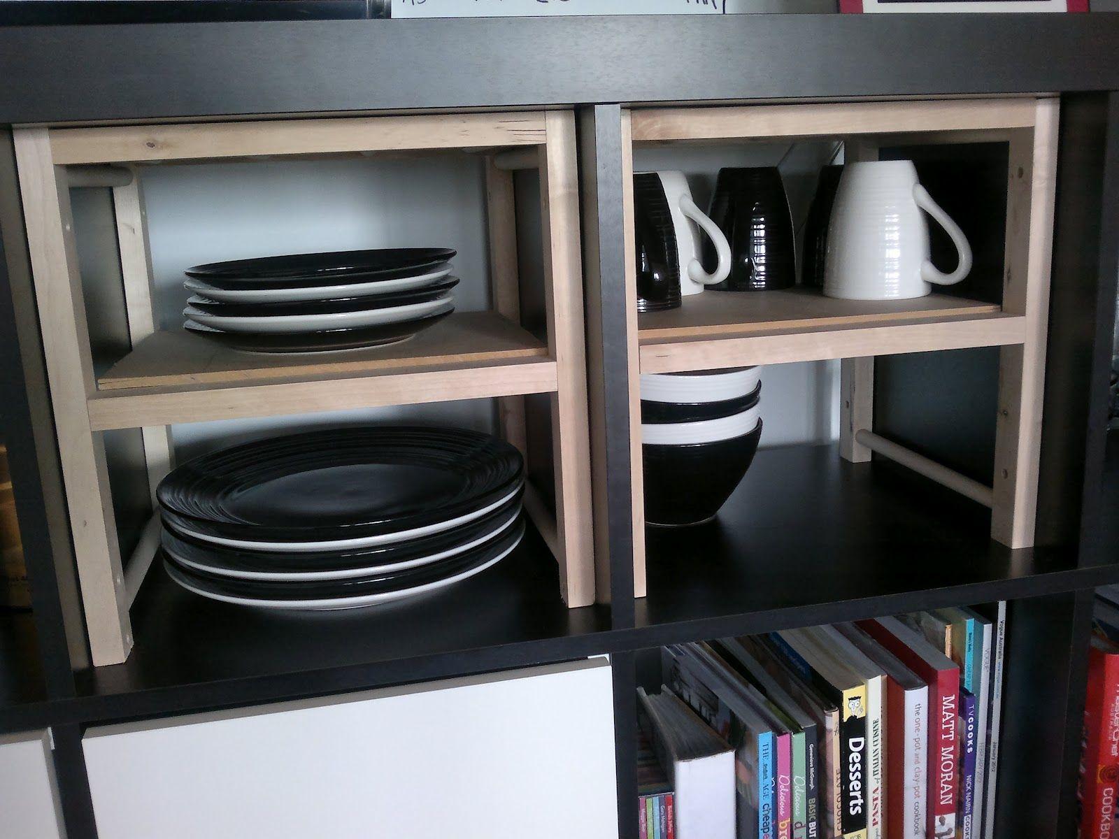 EXPEDIT Half Shelf from Wine Rack | Wine rack, Ikea hackers and Wine ...