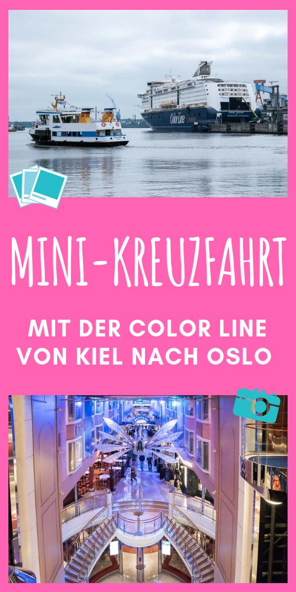 Mini Kreuzfahrt Von Kiel Nach Oslo Mit Der Color Line Kreuzfahrt Oslo Kreuzfahrt Tipps