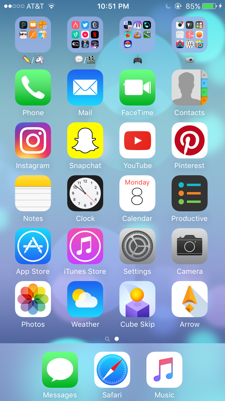 iphone home screen design app homemade ftempo