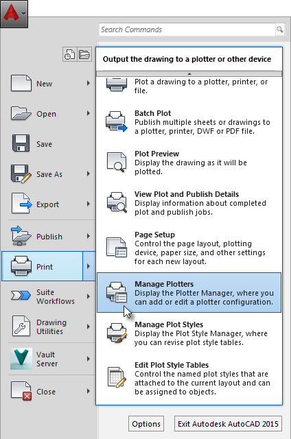Disabling Autocad Layer Output When Plotting To Pdf Autocad Lt
