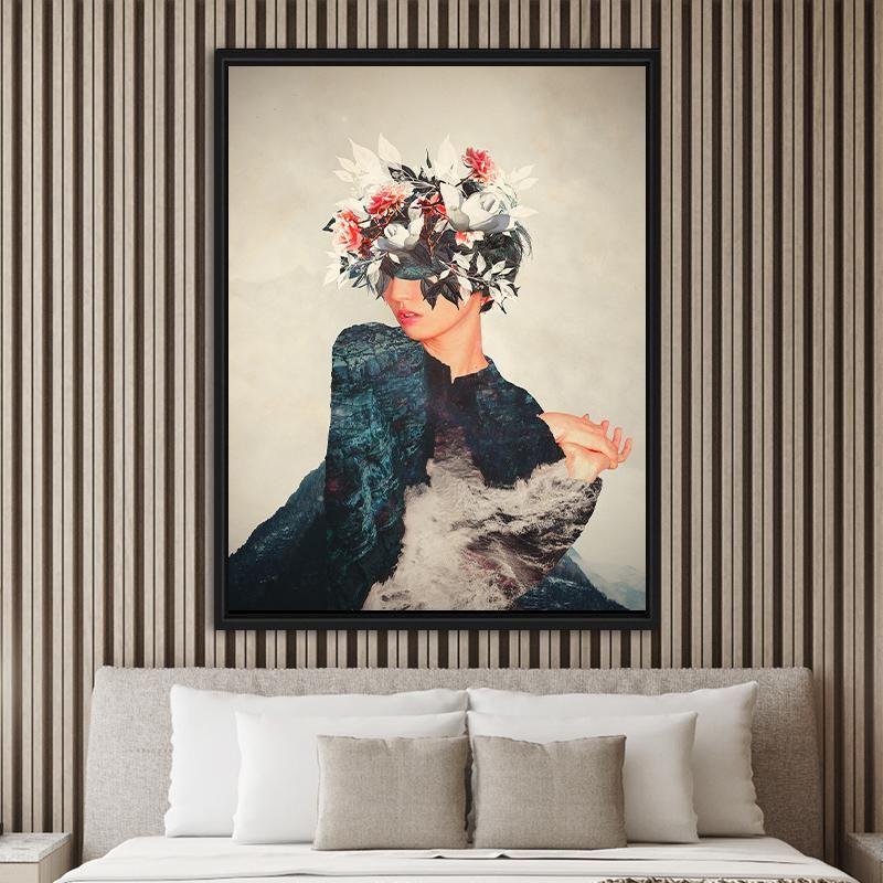 Kumiko – Floating Frame / Galerie Größe – 40×60  / 100x150cm