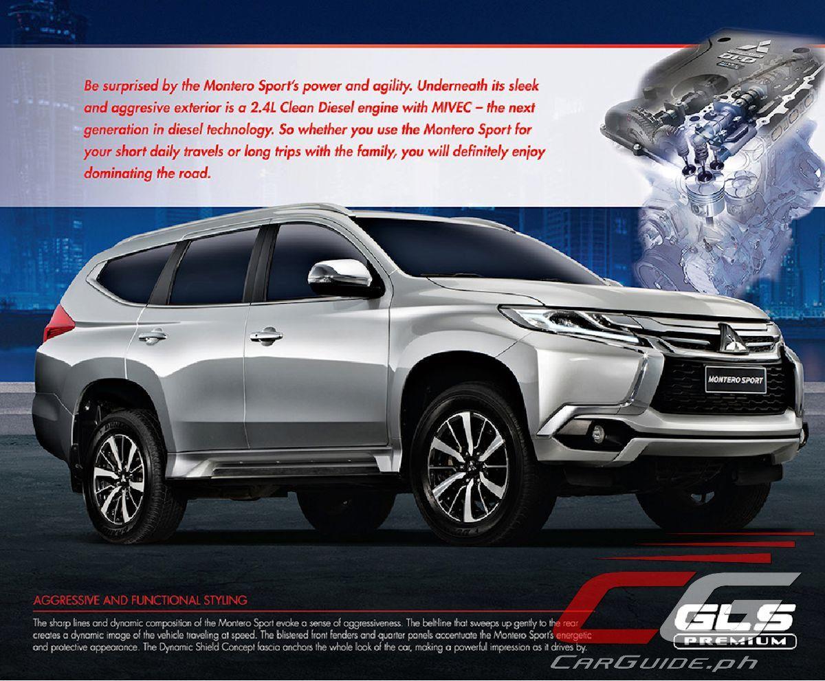2019 Mitsubishi Montero Sport Philippines