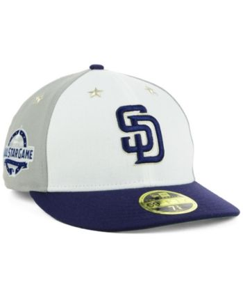 cheap for discount 2d0af 2f3a4 New Era San Diego Padres All Star Game Patch Low Profile 59FIFTY Fitted Cap  2018 - Blue 7 1 4