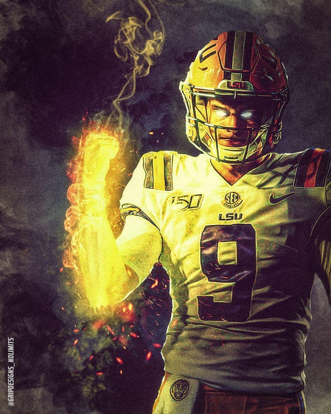 Todd Miller On Instagram Joe Burrow10 Lookin To Light It Up Again This New Year Happy 2020 Everybody Burreaux In 2020 Lsu Tigers Football Lsu Football Lsu Babies