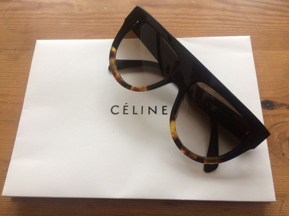 f04d097d5f0a New Celine 41026 FU55I Tortoise womens sunglasses brown lenses  fashion   clothing  shoes
