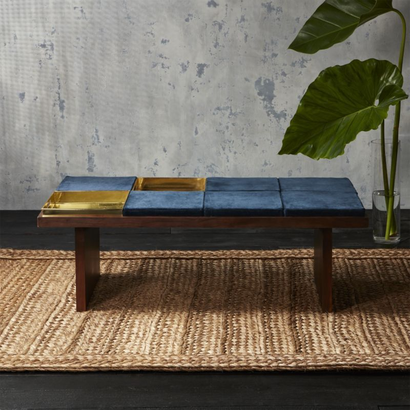 Bento Coffee Table With Two Trays And Six Cushions Sold Out