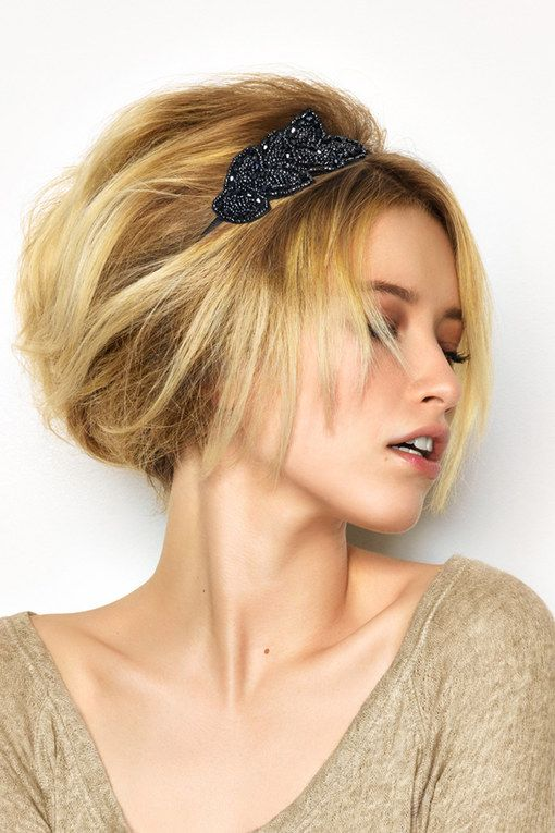 200 idées de coiffures de mariage Chignon cheveux court