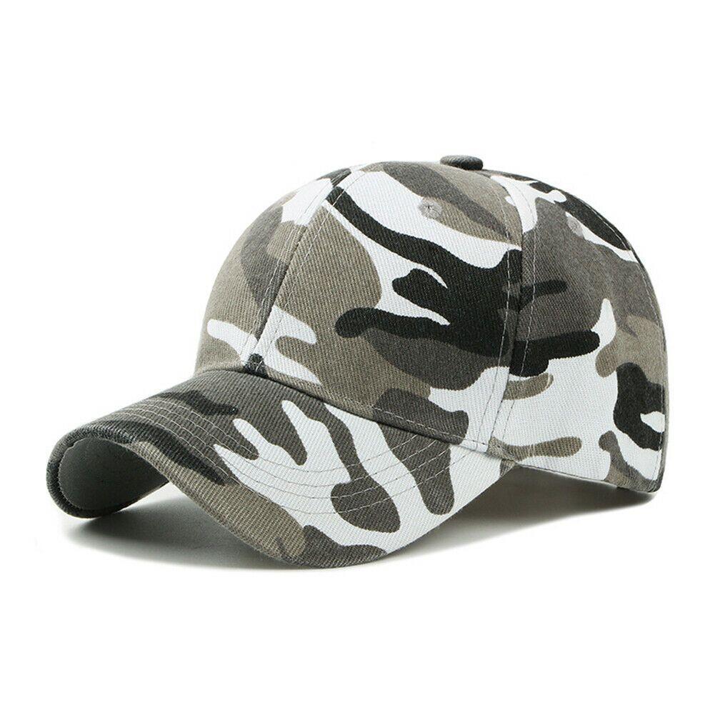 Unisexe Hommes Femmes Camouflage Casquette De Baseball Armée Camouflage Hip Hop Sport Réglable