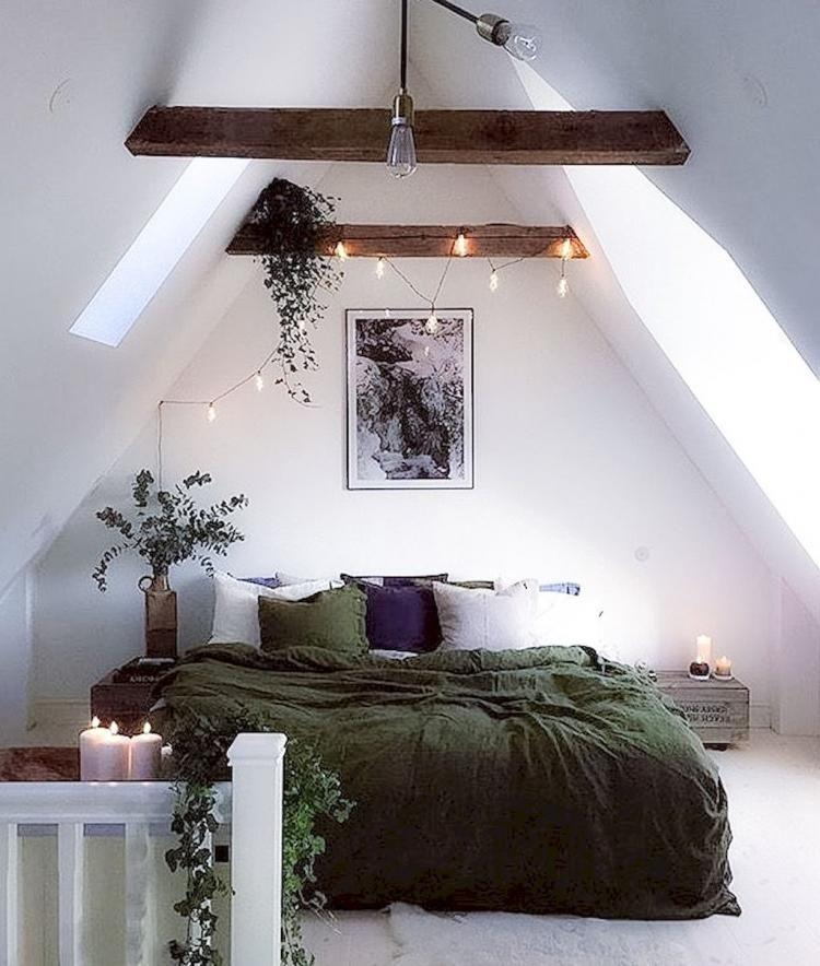 Cozy Attic Loft Bedroom Design Decor Ideas Cozy Small Bedrooms