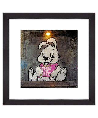 Thug for life print Sale - Banksy Sale