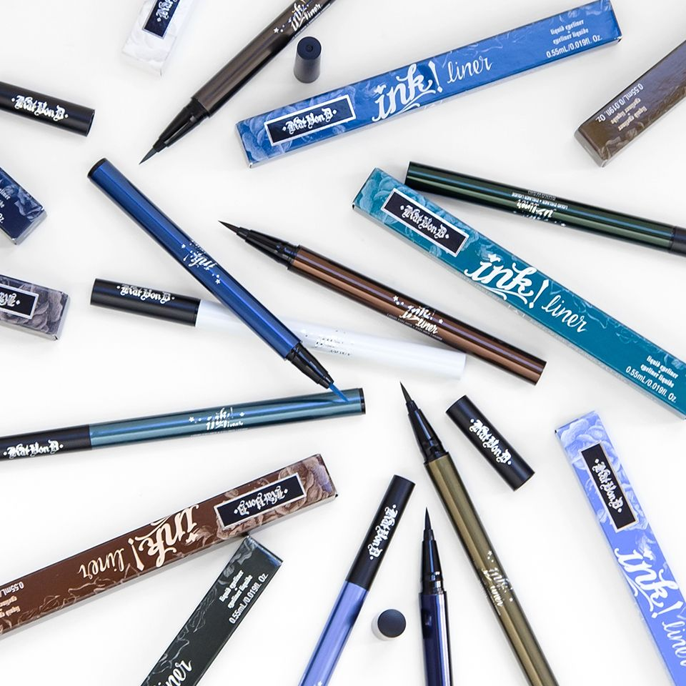 Ink Liner Makeup, Makeup for teens, Eyeliner tattoo