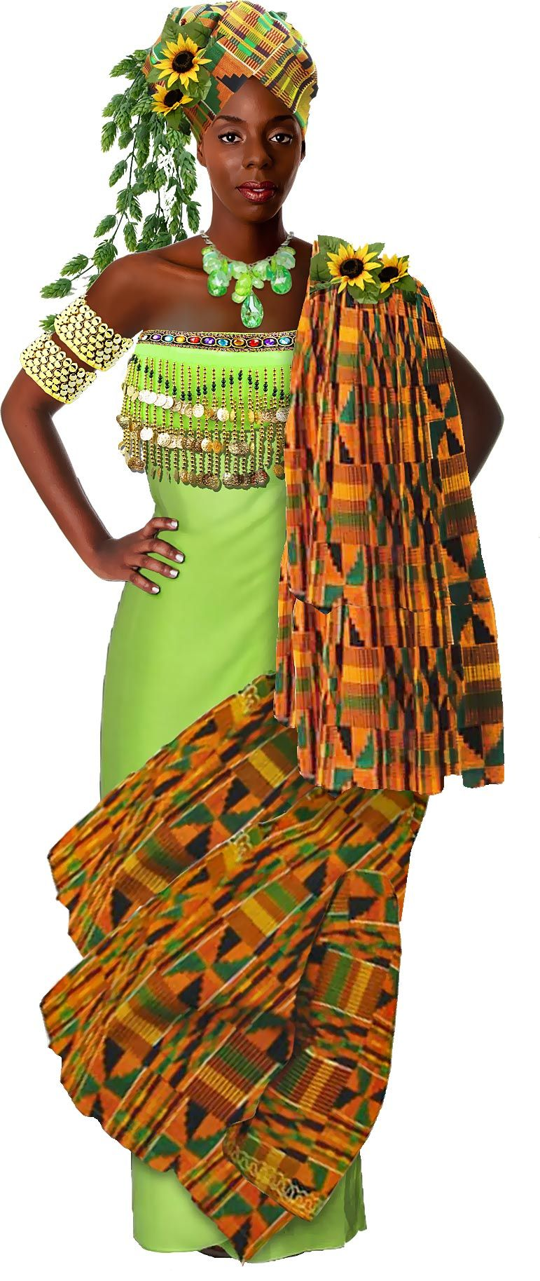 Asase Yaa is the earth goddess of the Asante people in Ghana
