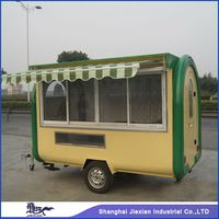 brand new mobile with rain canopy outdoor fast food vending