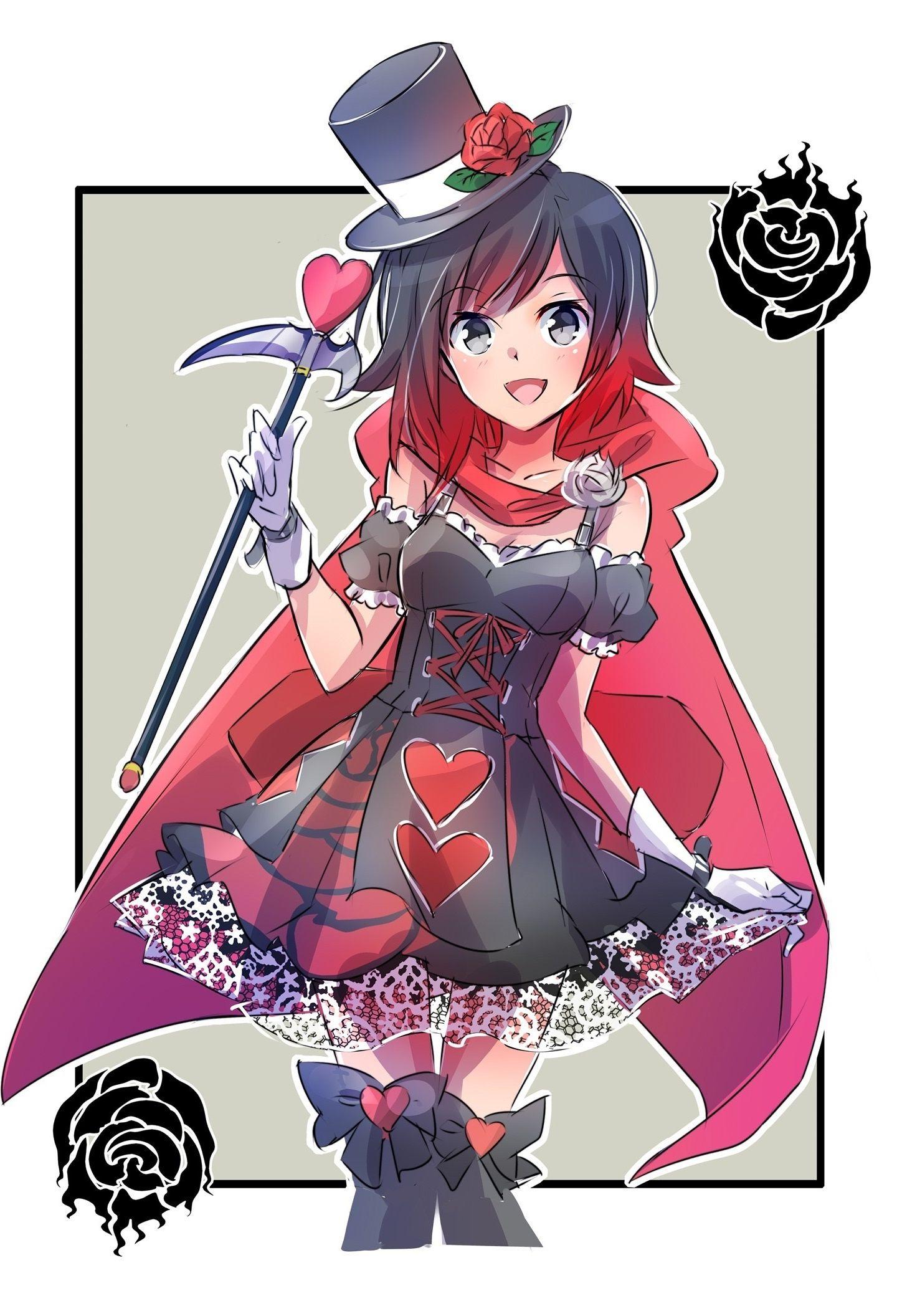 Rwby, Ruby Rose, Cute, Wallpaper Rwby Ruby Rose Phone is