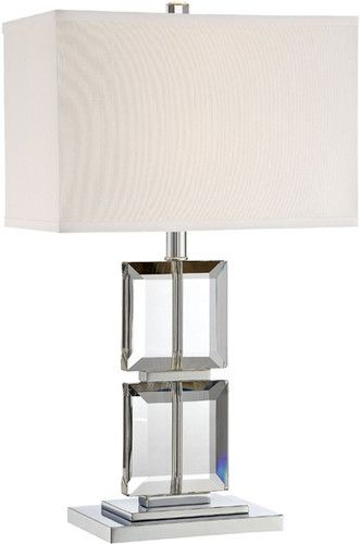 Lite Source Ls 22124 Druce Crystal Modern Table Lamp Ebay Modern Table Lamp Modern Table Lamp
