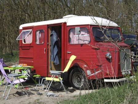 Old Citroën H Van Converted Into A Camper Allways Did Like This Chugger But I Would Give One Better Paint Job