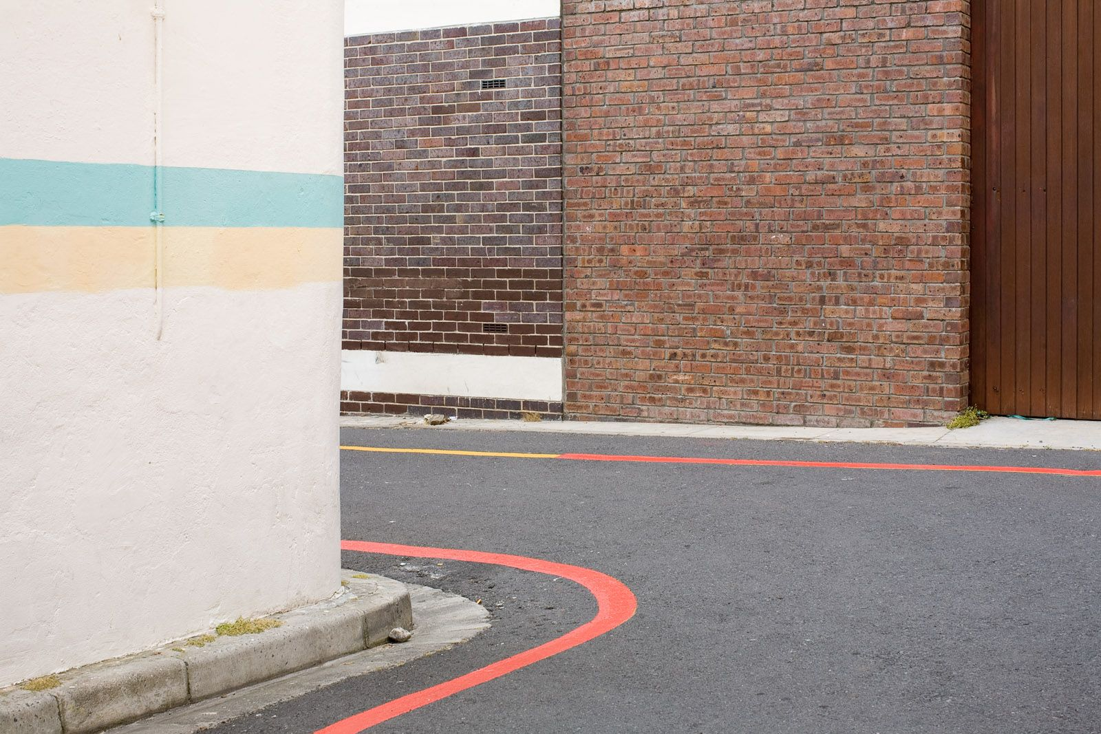 Burt Danckaert: Simple Present #199 (Cape Town), 2008