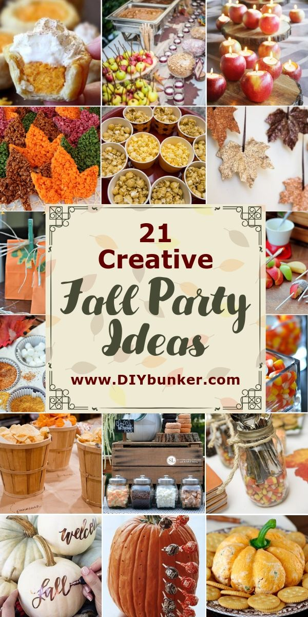 21 Rustic Fall Party Ideas