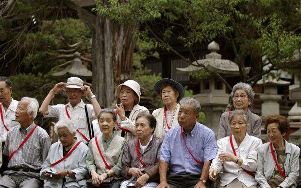 「aging population in japan」的圖片搜尋結果