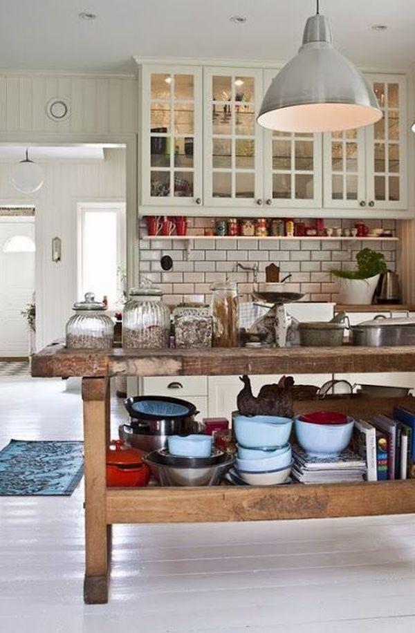 10 stylishly functional kitchen islands bathroom decor - Functional kitchen island designs ...