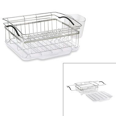 Buy Polder 3 Piece Compact Dish Rack System From Bed Bath