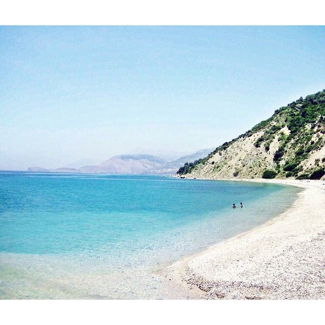 Lukova Beach Sarande Albania Albanianriviera Beautiful Coast