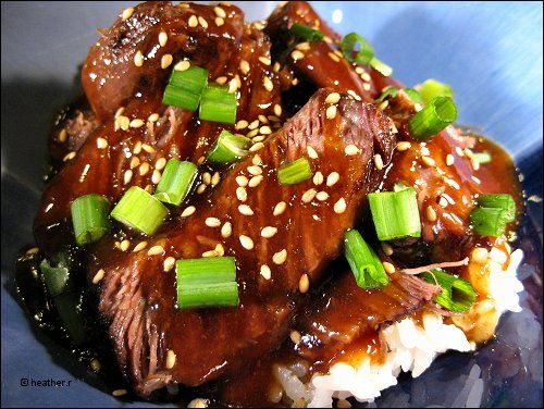 Heather S Bytes Korean Style Short Ribs Recipes Cooking Recipes Slow Cooker Recipes
