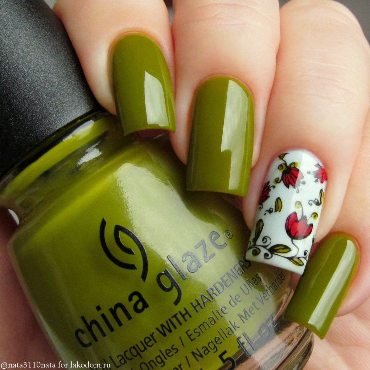 i love this green color | UÑAS | Pinterest | Diseños de uñas, Arte ...