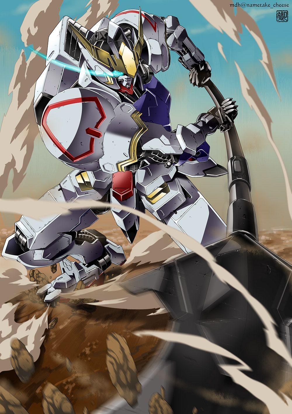 Gundam Barbatos Wallpaper Mobile Gundam Wallpapers Gundam Iron Blooded Orphans Anime