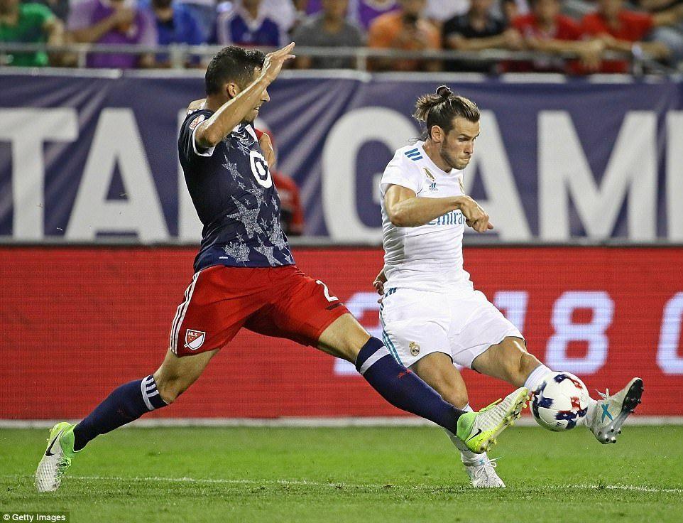 MLS AllStars 11 Real Madrid (pens 24) Gareth bale