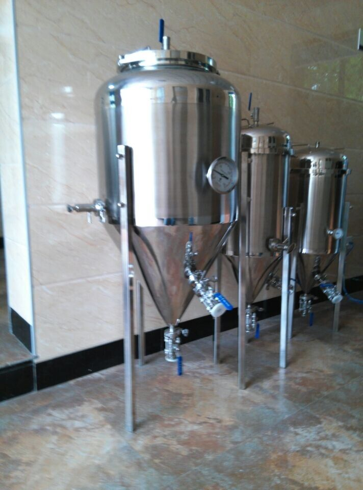 Stainless Steel Glycol Jacket Conical Fermenter Stainless