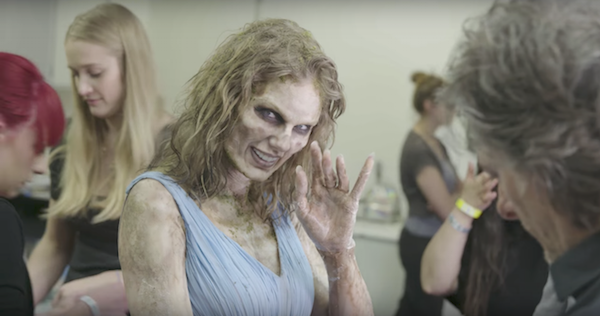 Watch How Taylor Swift Morphed From Living To Dead In Bts Of Her Lwymmd Mv Taylor Swift Videos